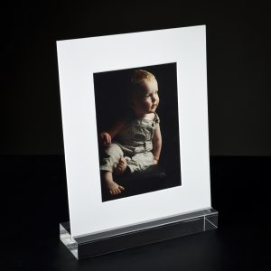 Acrylic Image Art Mount Holder with Photo