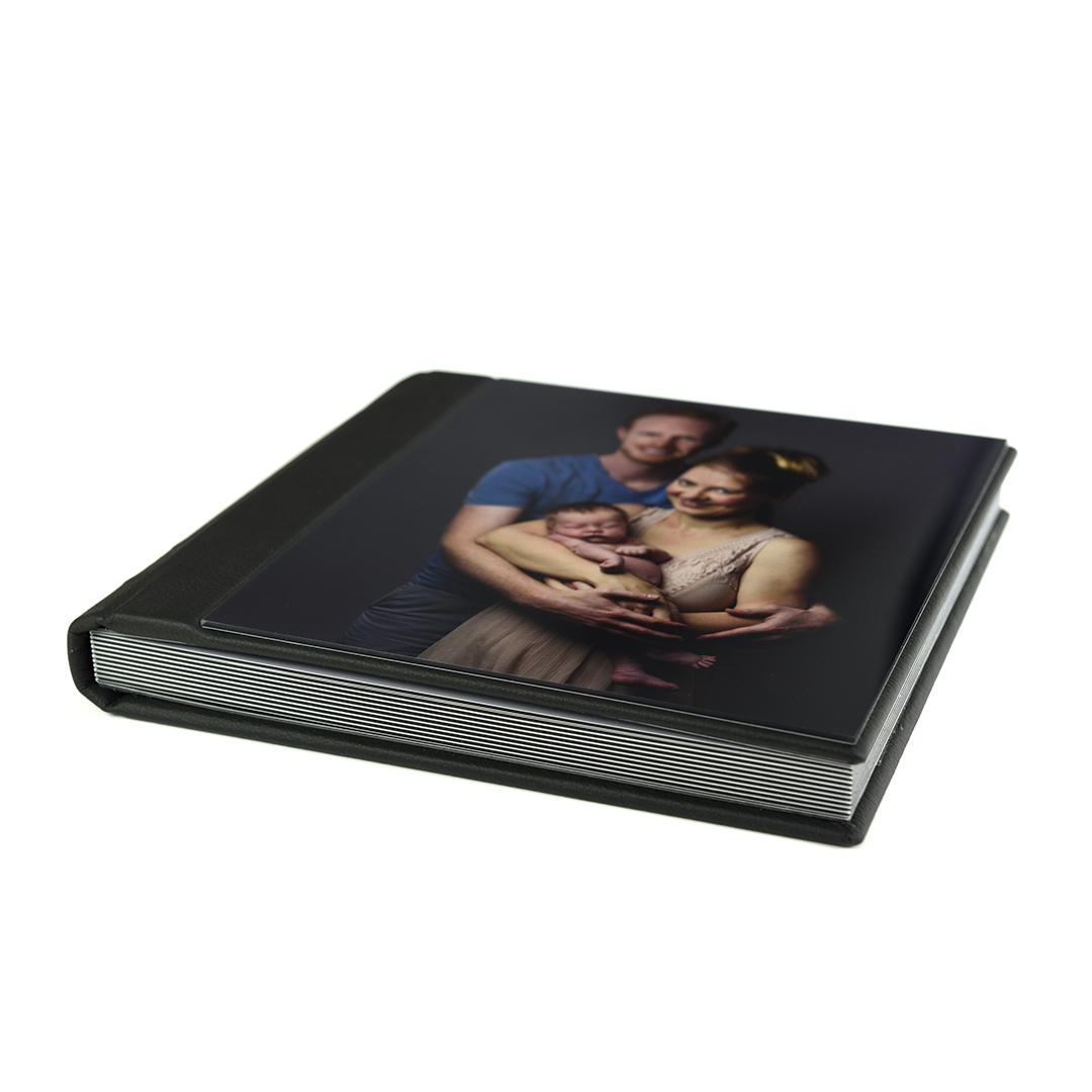 Leather Photo album Acrylic Cover
