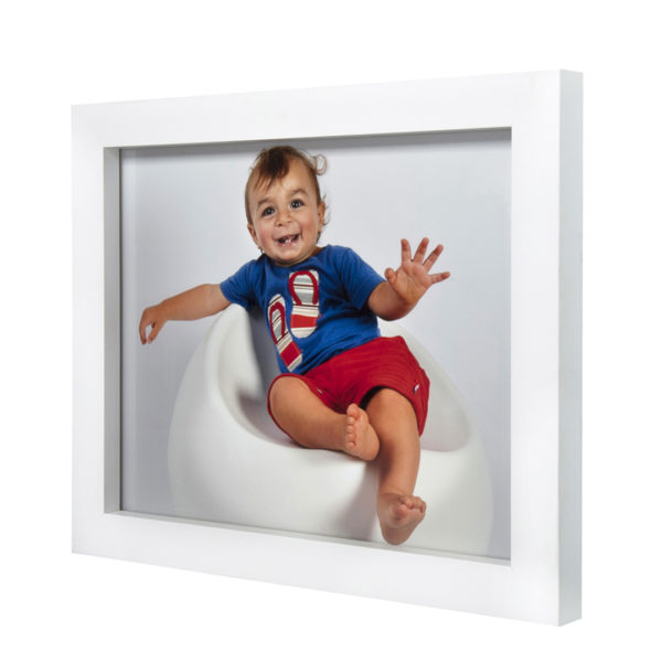 White Chunky Frame