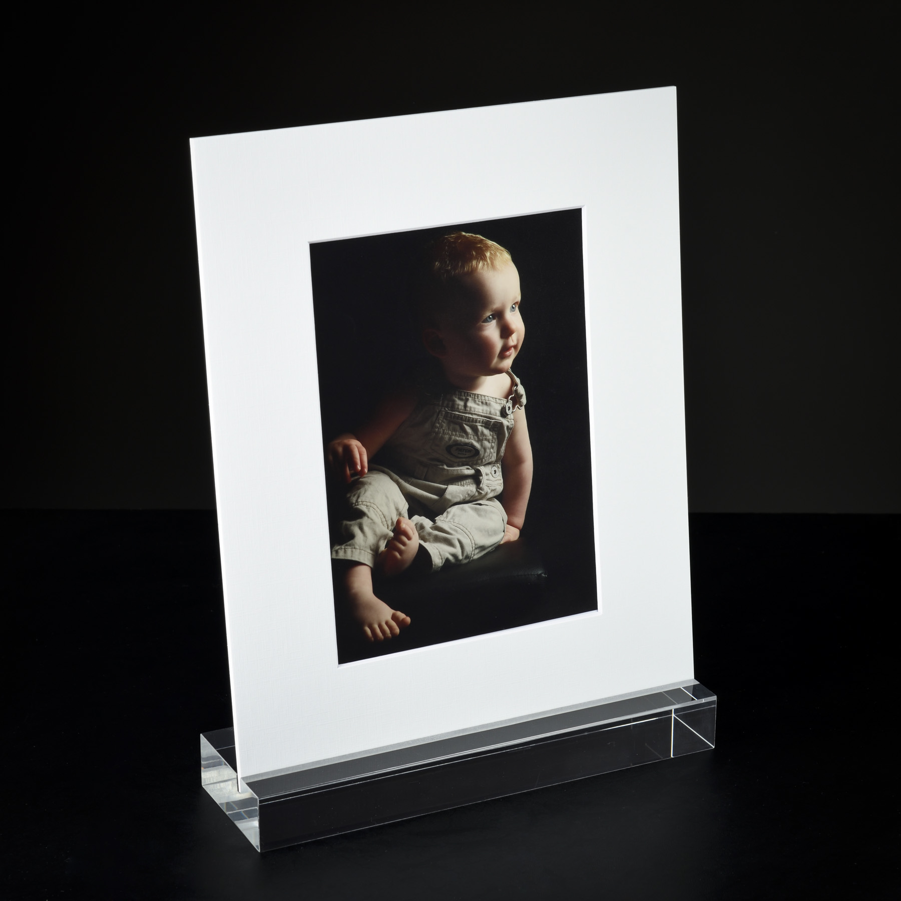 Acrylic Image Art Mount Holder with Photo